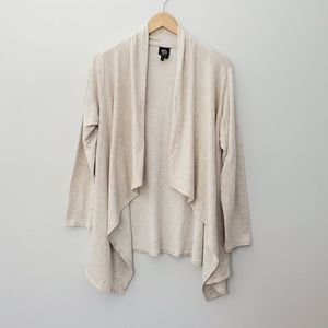 2 for $20 Bobeau oatmesl open drspey cardigan